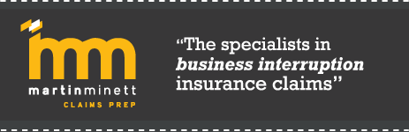 Martin Minett: The specialists in business interruption business claims